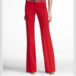 Express red Editor dress pants 2